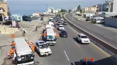 Convoys of FPM supporters head to Baabda presidential palace (Videos)