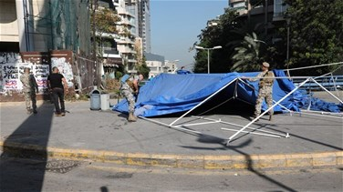 General Security forces remove tents from Sassine Square, reopen roads (Photos)