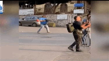 Tension in Jal el-Dib as armed man opens fire before being arrested by security forces (Video)