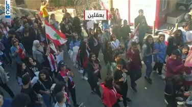 On day 35 of protests: Students hold sit-ins across Lebanon-[VIDEO]