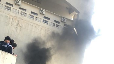 Fire erupts at Lebanese University's Faculty of Sciences in Fanar (Photos & Videos)