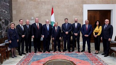 President Aoun hopes government will be formed next week - statement