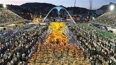 Lebanon for the first time in the Brazilian Carnival