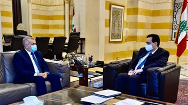 PM Diab meets MP Traboulsi over education, private schools