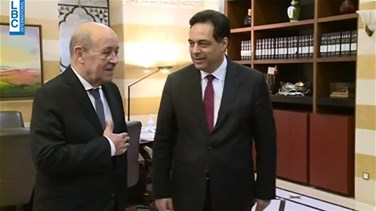 Le Drian visits Lebanon, meets senior officials
