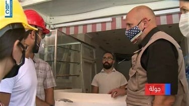 USAID Acting Administrator  tours damaged regions