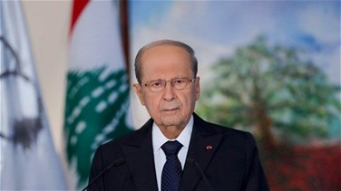 President Aoun urges world to help Lebanon securing safe return of Syrian refugees