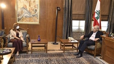 Berri tackles general situation with Akar