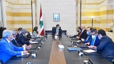 Diab chairs meetings on IMF talks, repercussions of Beirut blast