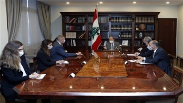 Aoun meets with UN Kubis