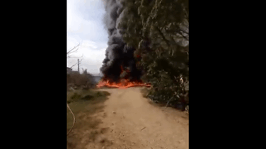Fire erupts in oil pipeline in North Lebanon (Video)