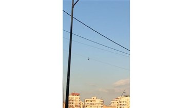 Army helicopter drops Covid-19 leaflets over Sidon-[VIDEO]